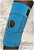 "Blue, Xl (25"" Thigh, 12"" Calf) Knee Support, Wrap"
