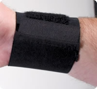 "3"" Universal Wrist Wrap, White, One Size Fits Most"
