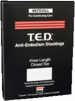 T.e.d.'s, White Knee Length W/clsd Toe, Sm. - Reg