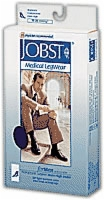 Small, White, Clsd Toe Jobst For Men, 15-20, Pair