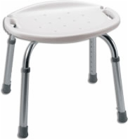 Adjustable Bath & Shower Seat, W/o Back, 2/case