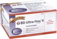 Ultrafine Ii Short 31g X 3/10cc Insulin Syringe
