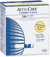 Comfort-curve Test Strips, 100 (advantage & Compl)