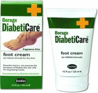 Borage Diabetic Foot Cream, 4.2 Ounce Tube, Each