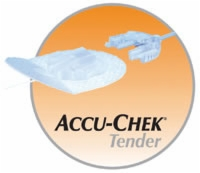 "Accu-chek Tender I Infusion Set, 24"", 17mm/60cm"