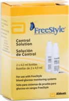 Freestyle Control Solution, 2-vials