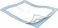 "Tendersorb Underpads, 23"" X 24"" (Bag of 10)"