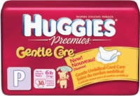 Huggies Snug & Dry Diaper, Preemie (Bag of 30)