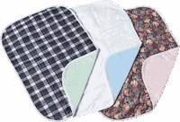 "Carefor, Reusable Quilted Underpad, 23""x36"", Green Plaid, Each"