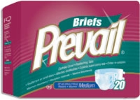 "Prevail Premium Medium Briefs, 32""-44"" (Bag of 20)"