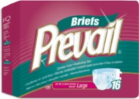 "Prevail Premium Large Briefs, 45""-58"" (Bag of 16)"