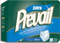 "Prevail Protective Underwear, Med, 34""-46"" (Bag of 20)"