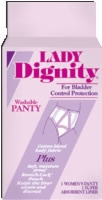 Lady Dignity Plus Large Panty, Panty Size 8