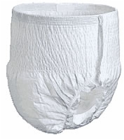 "Select Disposable Underwear, Med, 34""-48"", 120-175 (Bag of 20)"