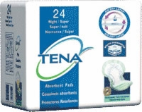 Tena Night/super Pad, Green (Bag of 24)