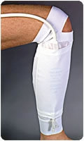 Large Fabric Leg Bag Holders For The Lower Leg