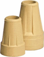 "Standard Crutch Tip, Pair, 7/8"", Short Term Use"
