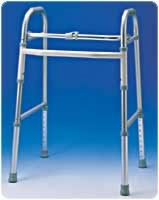 Single Button Adult Folding Walker, 2 Per Case