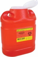Guardian Sharps One Piece Safety Collector,6.9 Qt