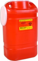 Guardian One-piece Sharps Collector System,5 Gal.