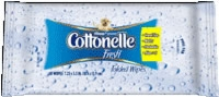 Kleenex Cottonelle Flushable Wipes (Case - 48 Packs of 10)