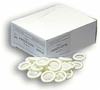 Small, 18 Mm Finger Cots, 144 Per Box