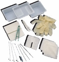 Trach Cleaning Tray W/glove,ea