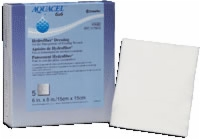 "Aquacel 6"" X 6"" Hydrofiber Wound Dressing, 5 Qty."