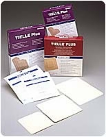 "Tielle Plus 4 1/4"" X 4 1/4"" Hydropolymer Dress,10"