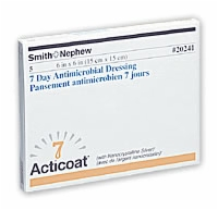 Acticoat 7 Day Wound Dressing 6 X 6,sold By Box