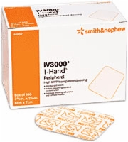 Iv 3000 1-hand Trans Peripheral Dress, 2x1 1/2,100