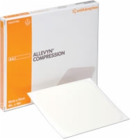 "2"" X 2 3/8"" Allevyn Compression Dressing,10/box"