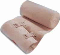 "Ace Elastic Bandage 6"" W/clips, Each"