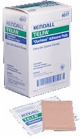 Telfa Ouchless Adhesive Dressing, 2 X 3, Sterile