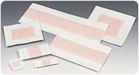 "Polymem 4"" X 2"" Strip Adhesive Cloth Dressings,100"