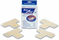 Elasto-gel T-shape Drsng Toe Removal,sterile,3/box
