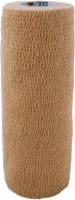 "Self Adherent Elastic Bandage, 6"" X 5yds,tan,latex"