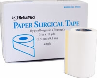 "Reliamed 3"" X 10 Yd Tape, Paper, Each Roll"
