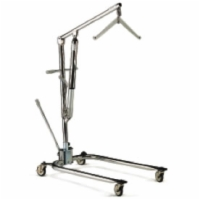 Classic Hoyer Hydraulic Patient Lifter (Chrome Frame, 2 Point Cradle)
