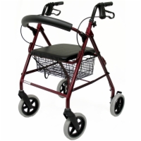 "Karman Aluminum Rollator - 8"" Wheels"