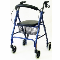 "Karman Aluminum Rollator - 6"" Wheels"