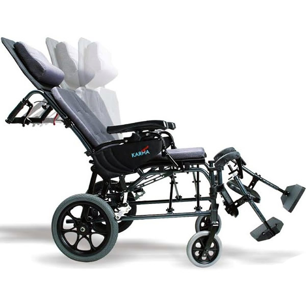Karman Ergonomic Ultra Lightweight Reclining Transport
