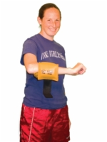 Cuff Rehabilitation Ankle And Wrist Weight - 3 Lbs - Gold