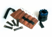 Pouch Variable Wrist And Ankle Weight Set - 10 Lbs - Brown
