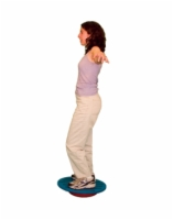 Cando Stability Trainer - Beginner - 30 Inch Boad And Instability Disc