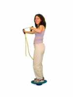 Cando Board-On-Stone Balance Trainer - 7 Inch Stone And 30 Inch Board