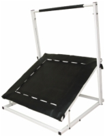 Cando Trampoline Ball Rebounder - Rectangular - With 5 Balls