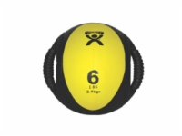 Cando Dual-Handle Medicine Ball - 6 Pound Yellow