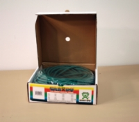 Cando Low Powder Exercise Tubing - 100 Feet - Green - Medium