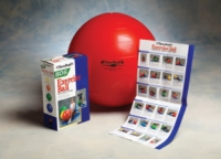 Thera-Band Inflatable Ball, Red, 55Cm (21.7 In)